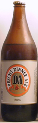 Bottle of Reschs Dinner Ale