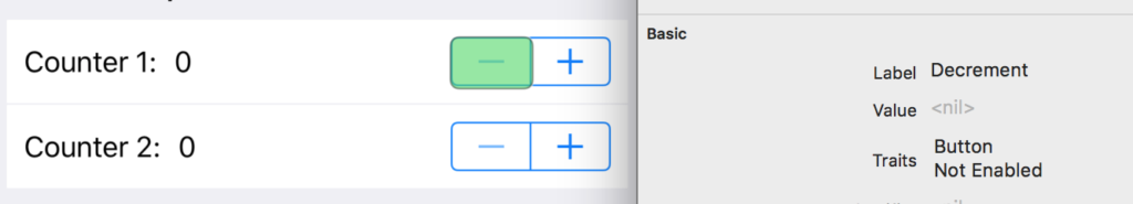 A screenshot showing default behavior for a Stepper is bad practice